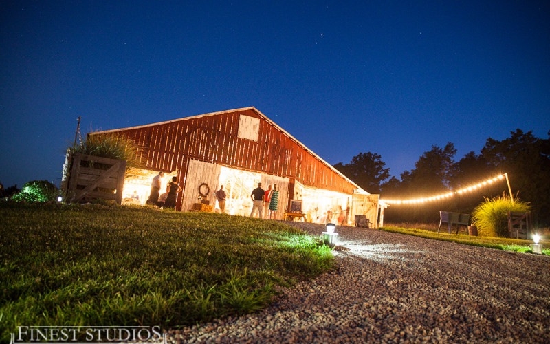 barn wedding country rustic venue reception ceremony Missouri Barn Wedding Venue Historic Farm